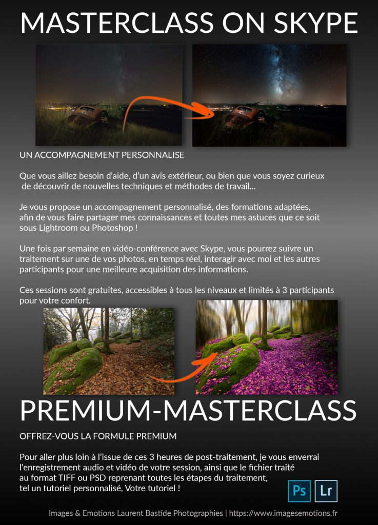 premium masterclass on skype lightroom photoshop