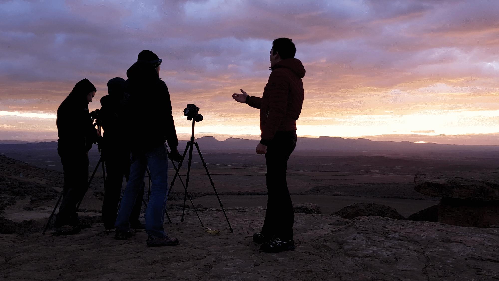 apprendre la photographie avec un photographe professionnel