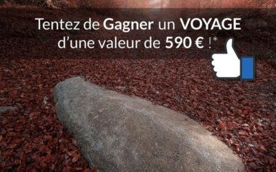 Gagnez un voyage photos d'une valeur de 590 Euros ! *
