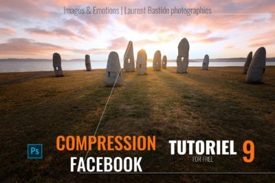 photoshop la compression facebook